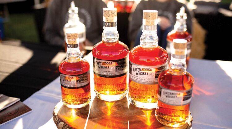 Bottles of Chattanooga Whiskey