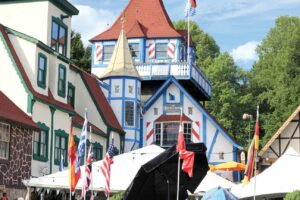 A Bavarian-style village is located in Georgia